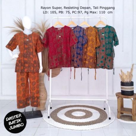 Babydoll Celana Panjang Batik Cap Rayon Super