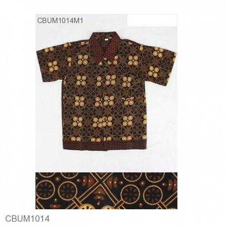 Baju Batik Anak Motif Capocino Size L