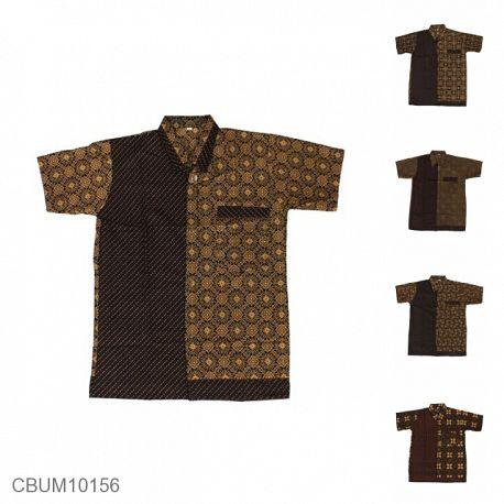 Baju Batik Anak Motif Capocino Size LLL