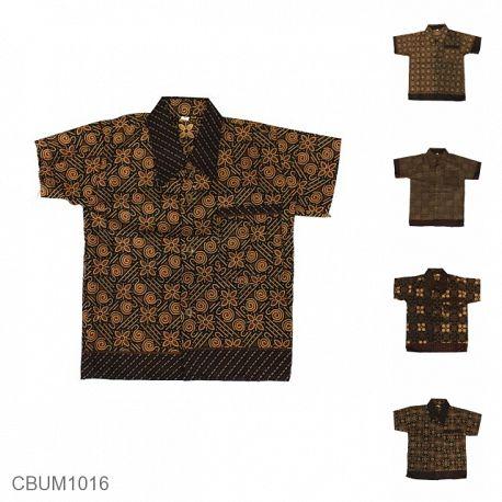 Baju Batik Anak Motif Capocino Size XL