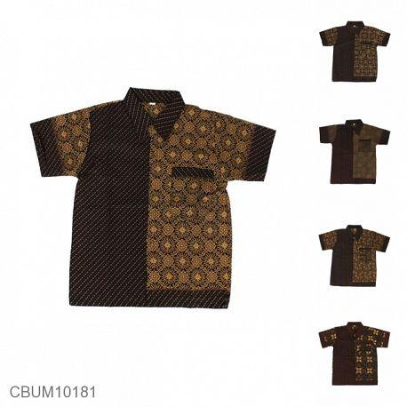 Baju Batik Anak Motif Capocino Size XXL