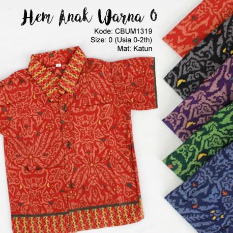 Baju Batik Anak Kemeja Songket 1