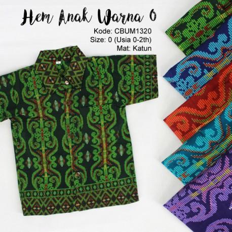 Baju Batik Anak Kemeja Songket 2