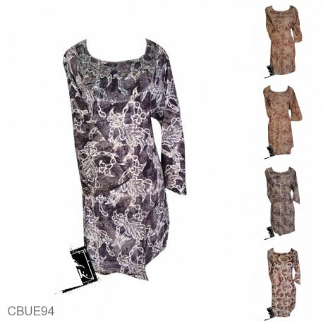 Baju Batik Blus Motif Batik Kontemporer