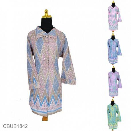 Baju Batik Blus Panjang Motif Rang Rang Kontemporer