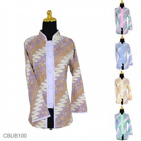 Baju Batik Blus Panjang Motif Parang