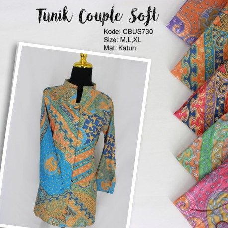 Baju Batik Couple Blus Soft