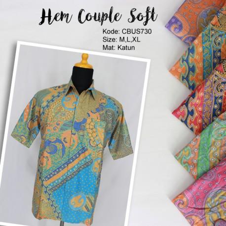 Baju Batik Couple Kemeja Soft