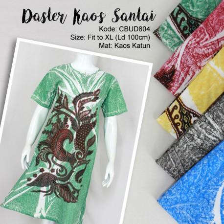 Baju Batik Daster Kaos Motif Bunga