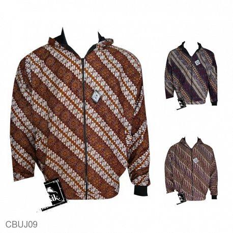 Baju Batik Jaket Motif Parang Modern