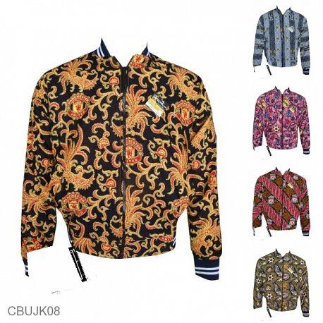 Baju Batik Jaket Motif Batik Bola