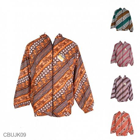 Baju Batik Jaket Motif Batik Etnik Warna