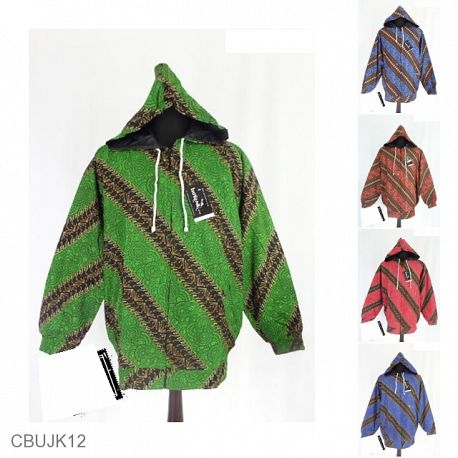 Baju Batik Jaket Pria Motif Parang Gurita