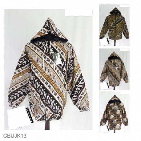 Baju Batik Jaket Pria Motif Mataraman