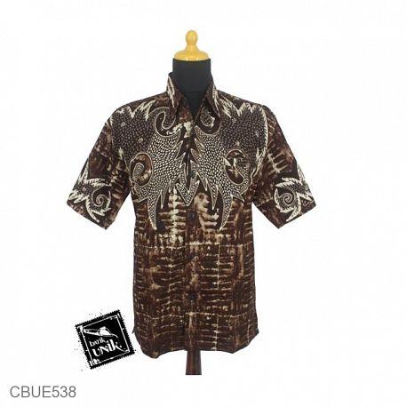 Baju Batik Kemeja Motif swiwi Lowo
