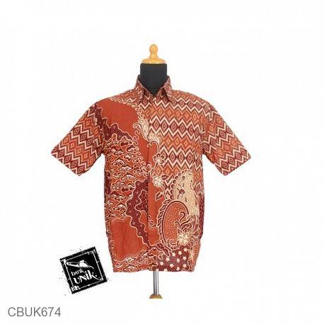 Baju Batik Kemeja Motif Wadas Tanjung