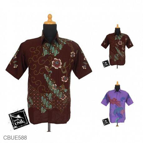Baju Batik Kemeja Ekslusive Motif Parang Kawung Kembang Orchid