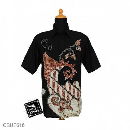 Baju Batik Kemeja Tulis Anjas Motif Pulo Parang