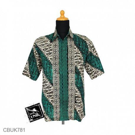 Baju Batik Kemeja Motif Parang Tumpal