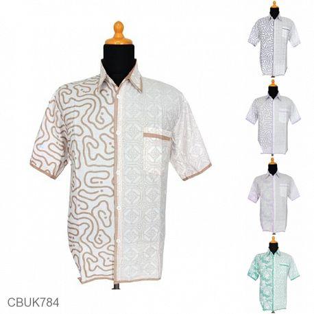 Baju Batik Kemeja Motif Labirin