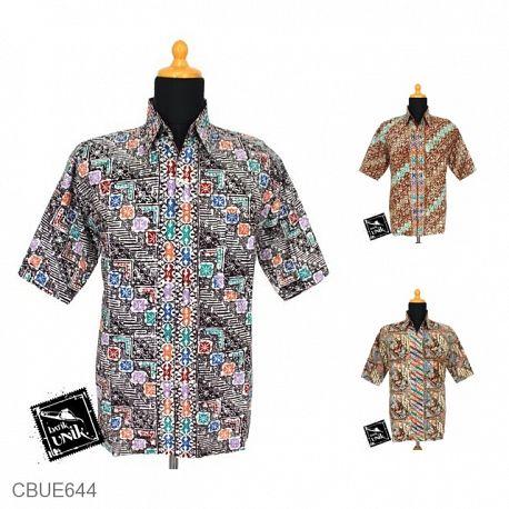 Baju Batik Kemeja Arsha Motif Parang Angsa