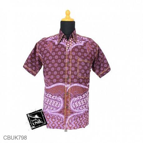 Baju Batik Kemeja Motif Truntum Sisik