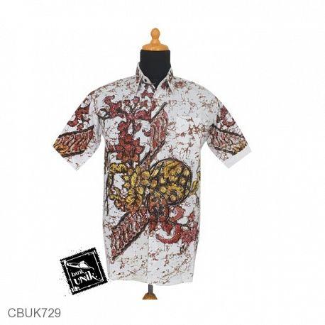 Baju Batik Kemeja Remekan Motif Parang Bunga Teratai