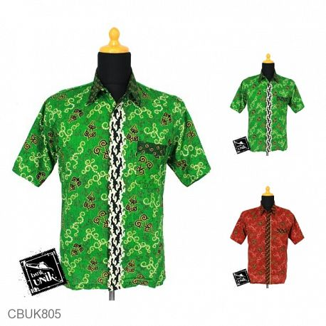 Baju Batik Kemeja Motif Mego Cucuk
