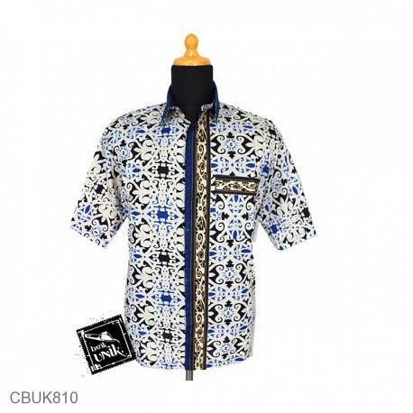 Baju Batik Kemeja Katun Motif Asmad Jengking