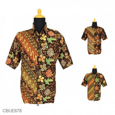 Baju Batik Kemeja Motif Parang Cuwiri