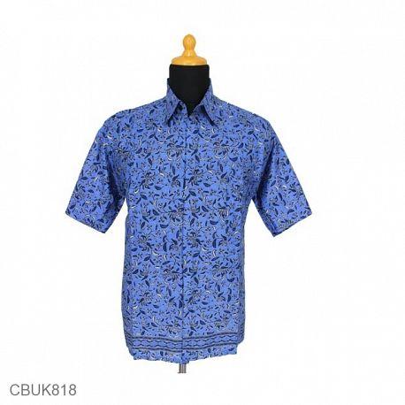 Baju Batik Kemeja Motif Godhong Tumpal