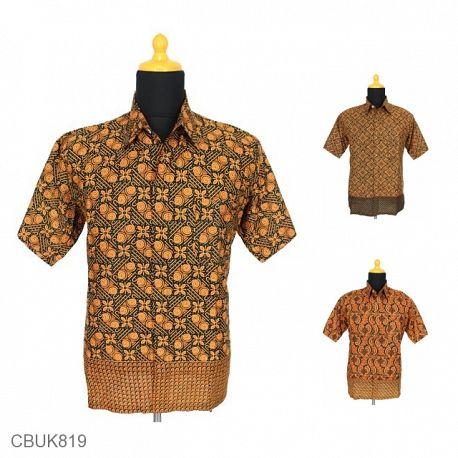 Baju Batik Kemeja Motif Capocino Tumpal