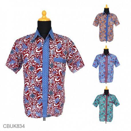 Baju Batik Kemeja Motif Cirebon
