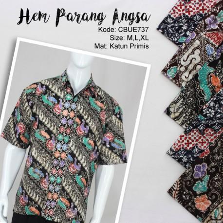 Baju Batik Kemeja Motif Parang Angsa