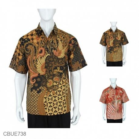 Baju Batik Kemeja Motif Parang Deres