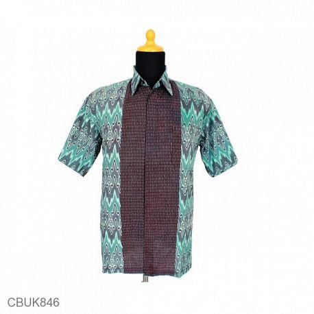 Baju Batik Kemeja Katun Motif Rang Rang Riti