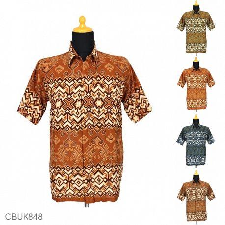 Baju Batik Kemeja Motif Asmad