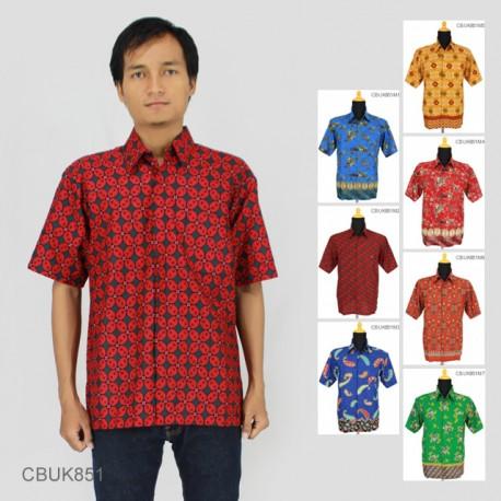 Baju Batik Keris Kemeja Katun