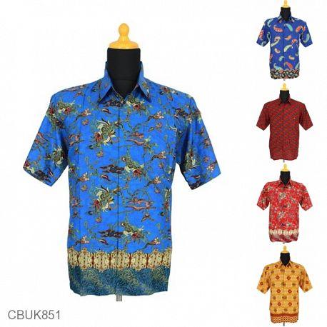 Baju Batik Kemeja Motif Kotemporer