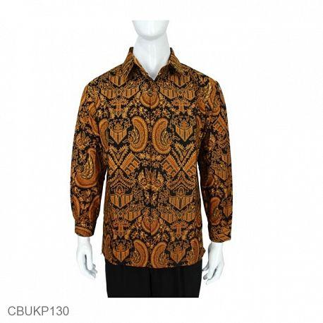Baju Batik Kemeja Panjang Motif Mataram Gurda