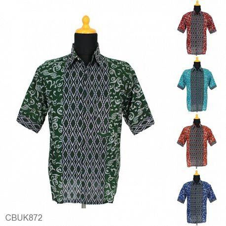 Baju Batik Kemeja Katun Wajik Ukir