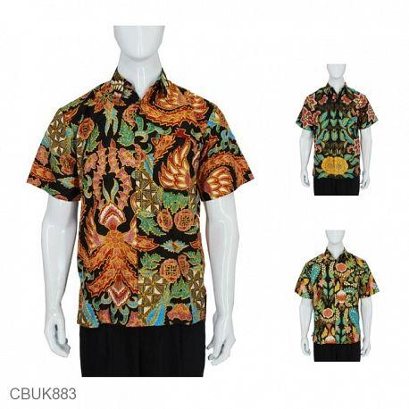 Baju Batik Kemeja Daun