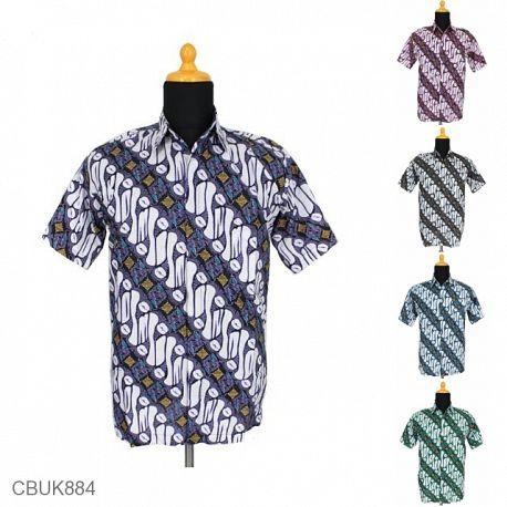 Baju Batik Kemeja Katun Parang