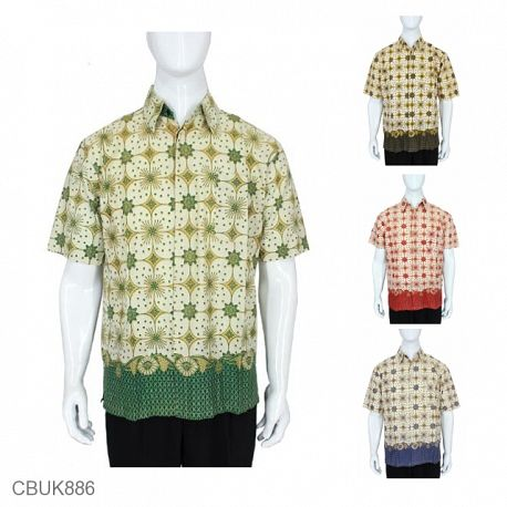 Baju Batik Kemeja Kawung
