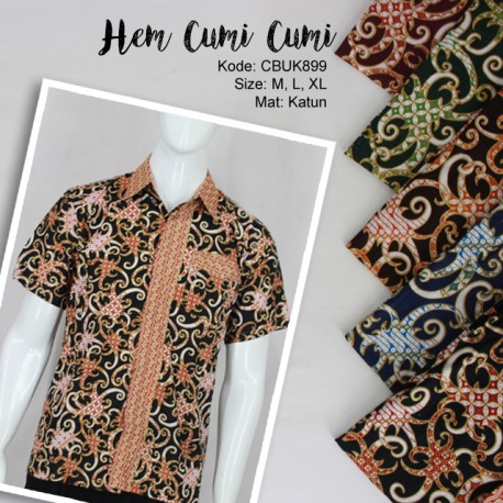 Baju Batik Kemeja Cumi Cumi