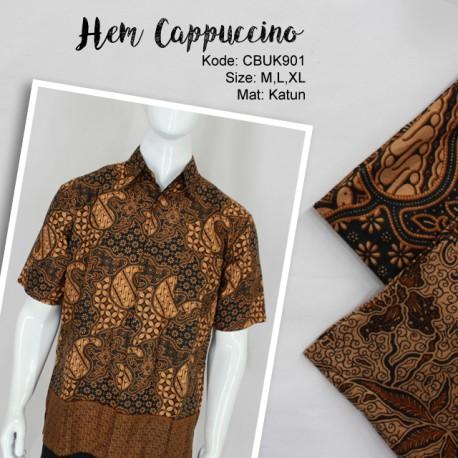 Baju Batik Kemeja Cappuccino