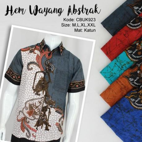 Baju Batik Kemeja Wayang