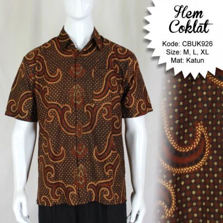 Baju Batik Kemeja Katun Pisang