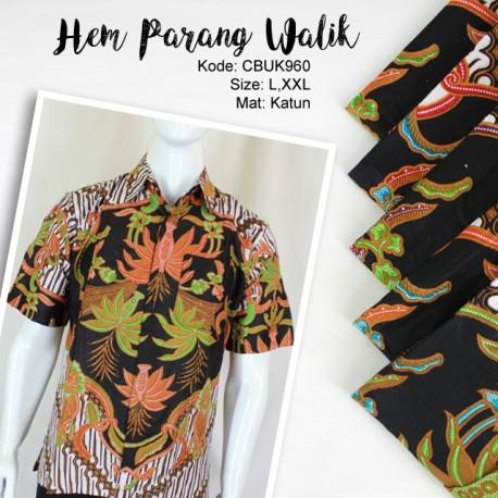 Baju Batik Kemeja Motif Parang Walik