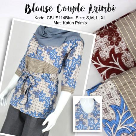 Baju Batik Couple Arimbi Motif Batik Ceker Ayam
